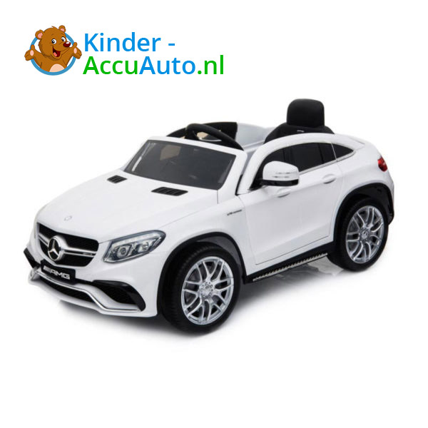 Mercedes GLE63 AMG Kinderauto Wit 1