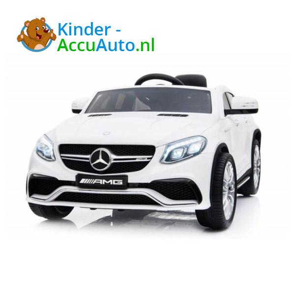 Mercedes GLE63 AMG Kinderauto Wit 2