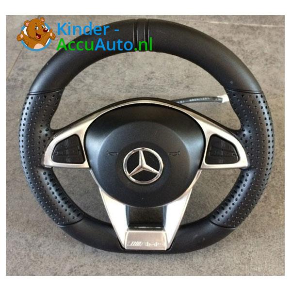 Mercedes GTR AMG kinderauto Wit 13
