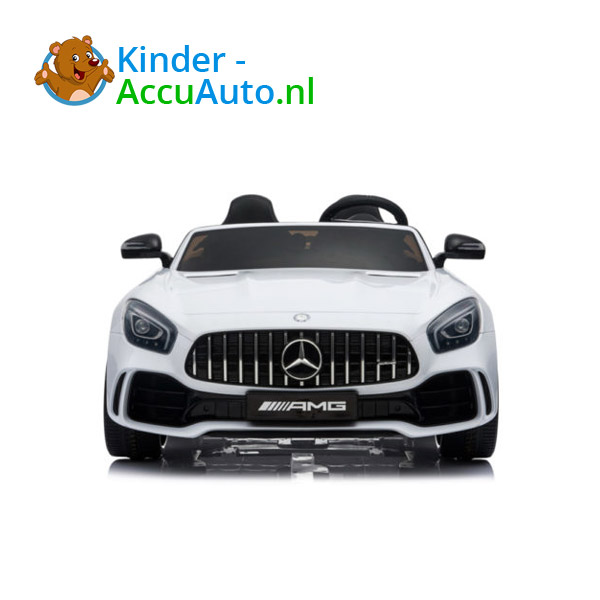 Mercedes GTR AMG kinderauto Wit 2