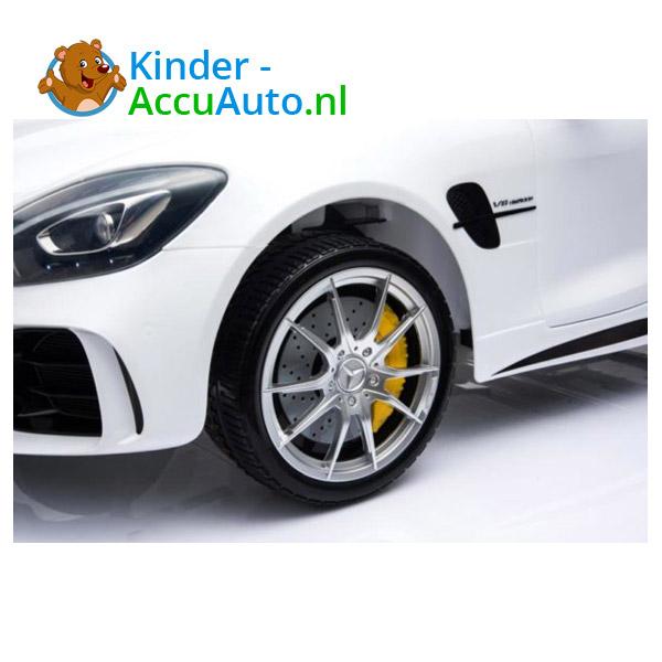 Mercedes GTR AMG kinderauto Wit 6