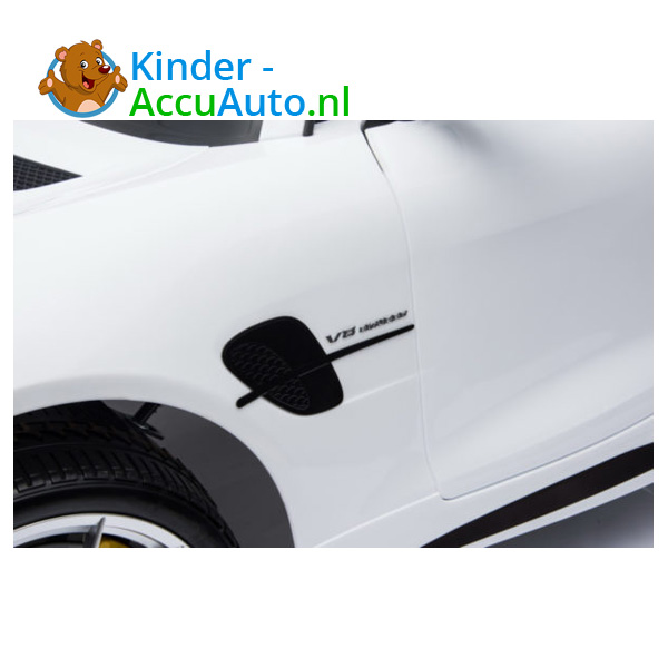 Mercedes GTR AMG kinderauto Wit 8