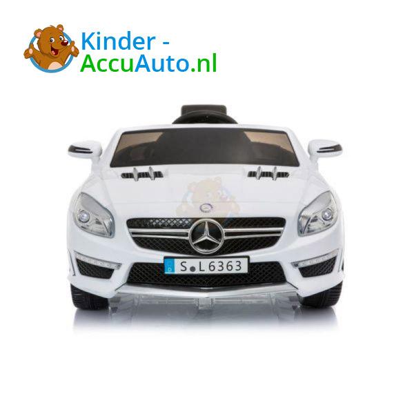 Mercedes SL63 AMG Kinderauto Wit 3