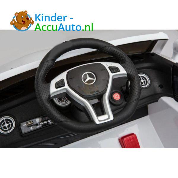 Mercedes SL63 AMG Kinderauto Wit 4