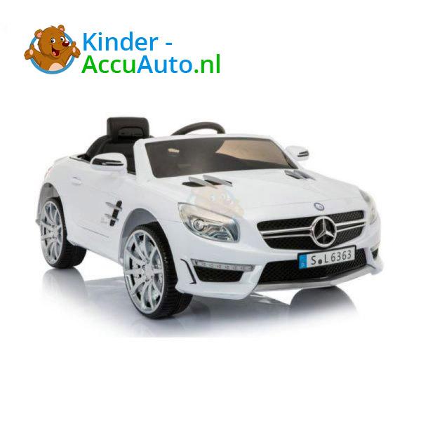 Mercedes SL63 AMG Kinderauto Wit 6