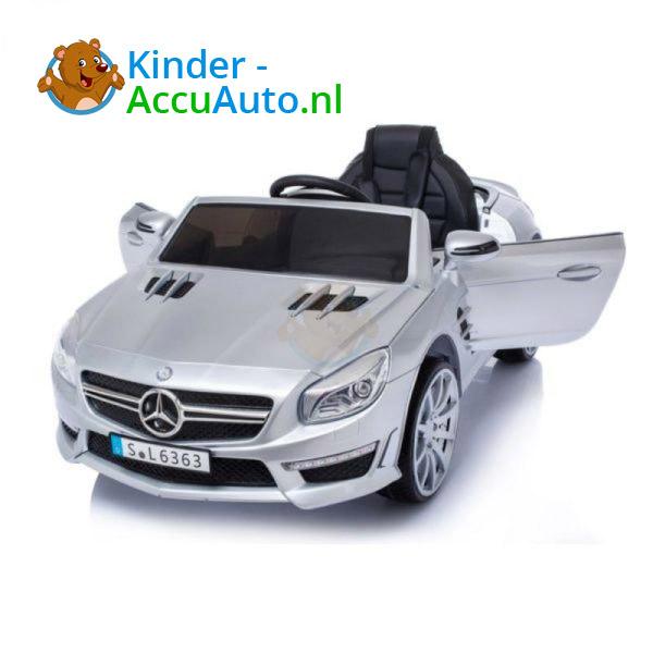 Mercedes SL63 AMG Kinderauto Zilver 1