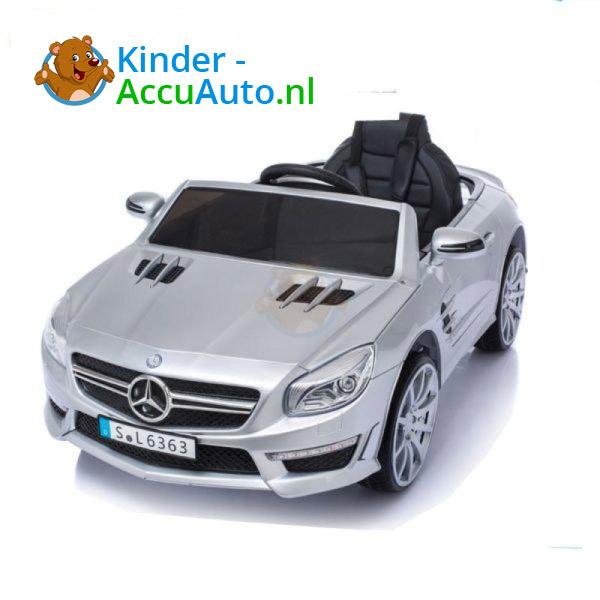 Mercedes SL63 AMG Kinderauto Zilver 10