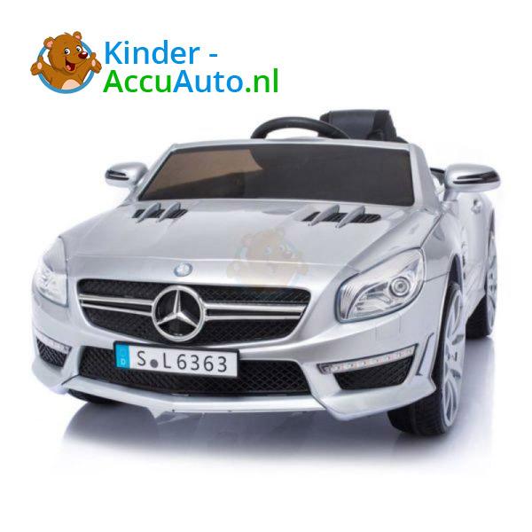 Mercedes SL63 AMG Kinderauto Zilver 11
