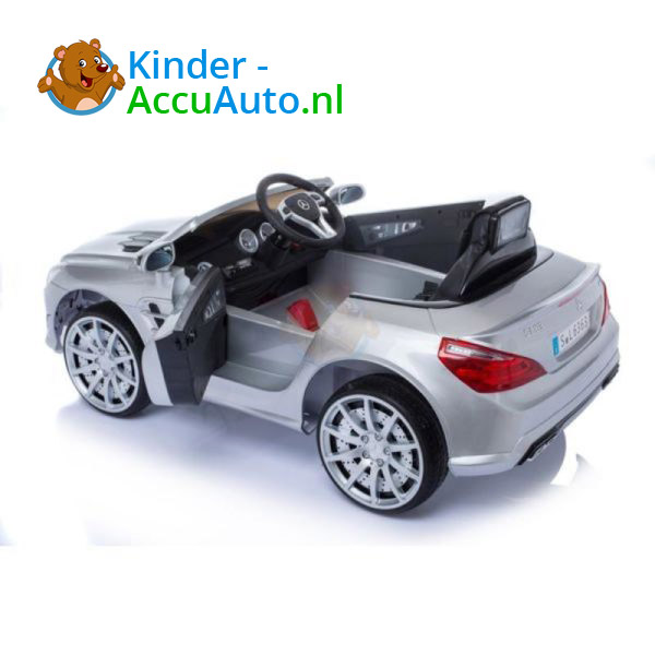 Mercedes SL63 AMG Kinderauto Zilver 2