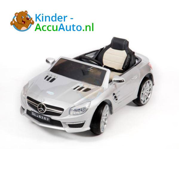 Mercedes SL63 AMG Kinderauto Zilver 5