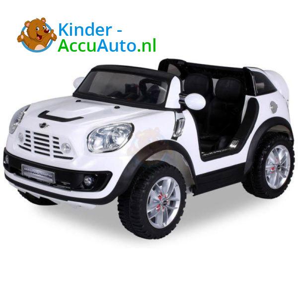 Mini Cooper Beachcomber Kinderauto Wit 1