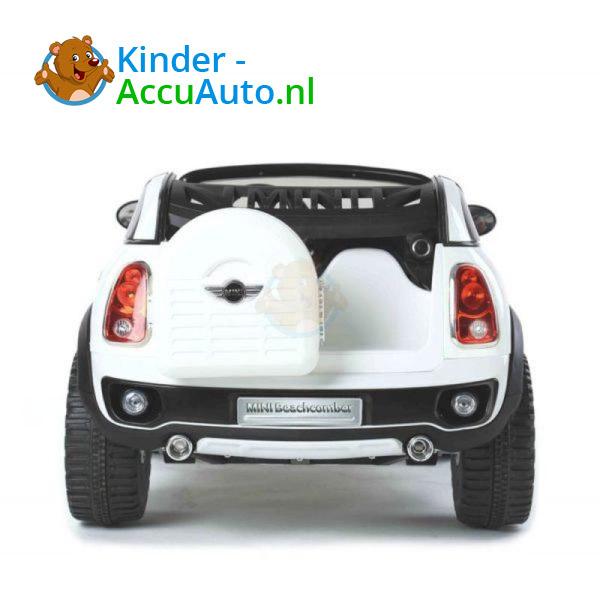 Mini Cooper Beachcomber Kinderauto Wit 2