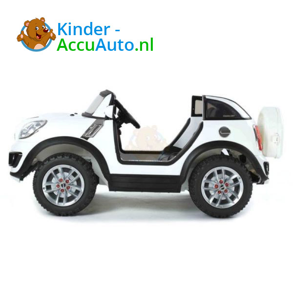Mini Cooper Beachcomber Kinderauto Wit 3