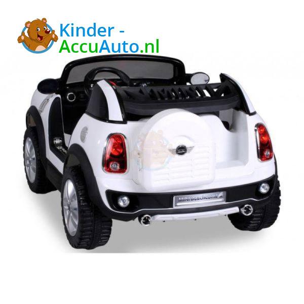 Mini Cooper Beachcomber Kinderauto Wit 7