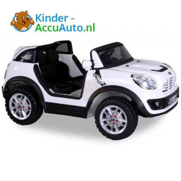 Mini Cooper Beachcomber Kinderauto Wit 8