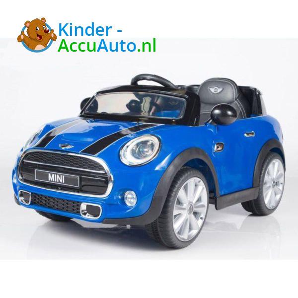 Mini Cooper Kinderauto Blauw 2