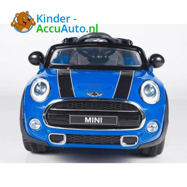 Mini Cooper Kinderauto Blauw 3