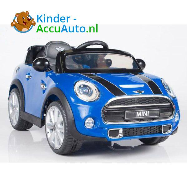 Mini Cooper Kinderauto Blauw 5