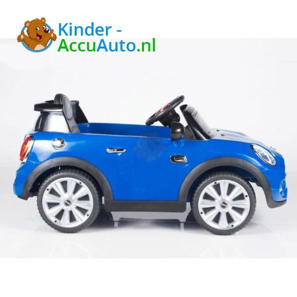 Mini Cooper Kinderauto Blauw 6
