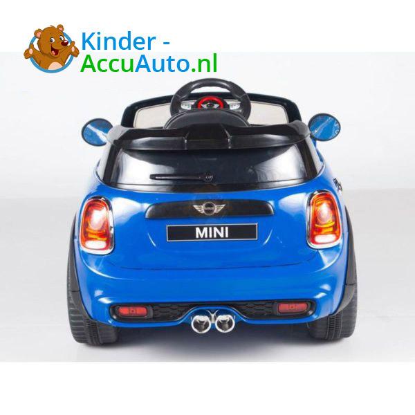 Mini Cooper Kinderauto Blauw 7