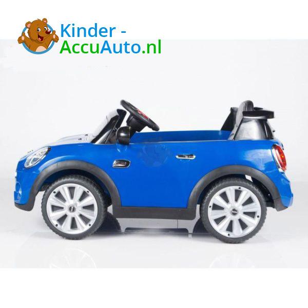 Mini Cooper Kinderauto Blauw 9