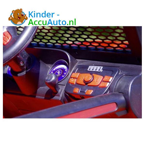 Monster Jeep Kinderauto Rood 6