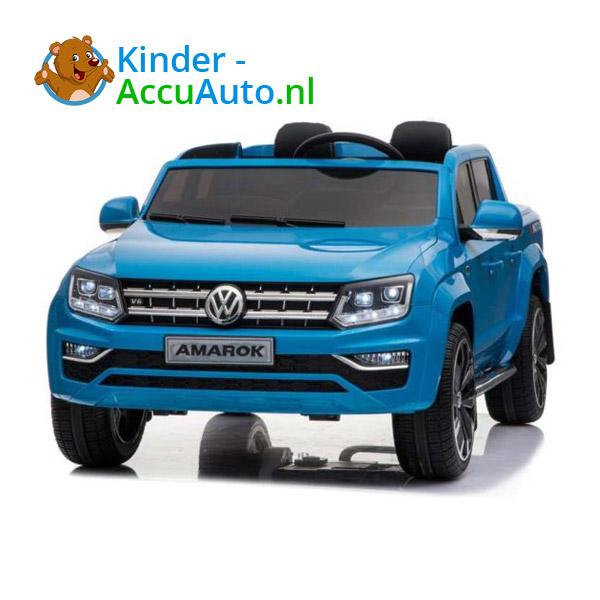 Volkswagen Amarok Kinderauto Blauw 1