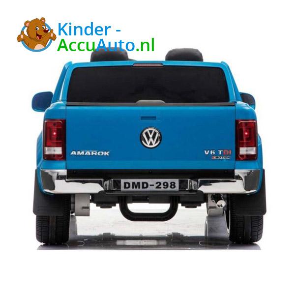 Volkswagen Amarok Kinderauto Blauw 4