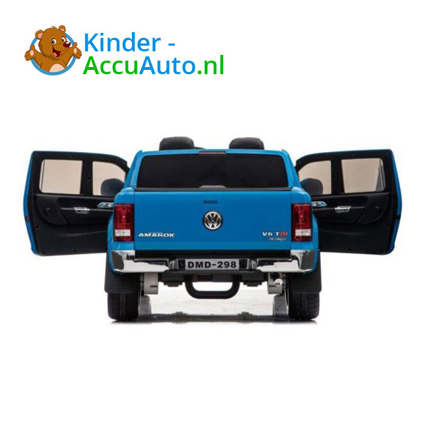 Volkswagen Amarok Kinderauto Blauw 5