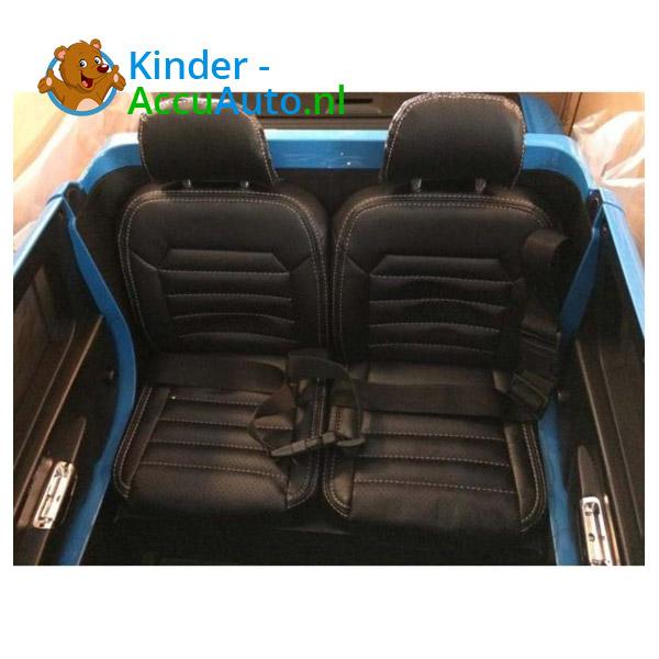 Volkswagen Amarok Kinderauto Blauw 6