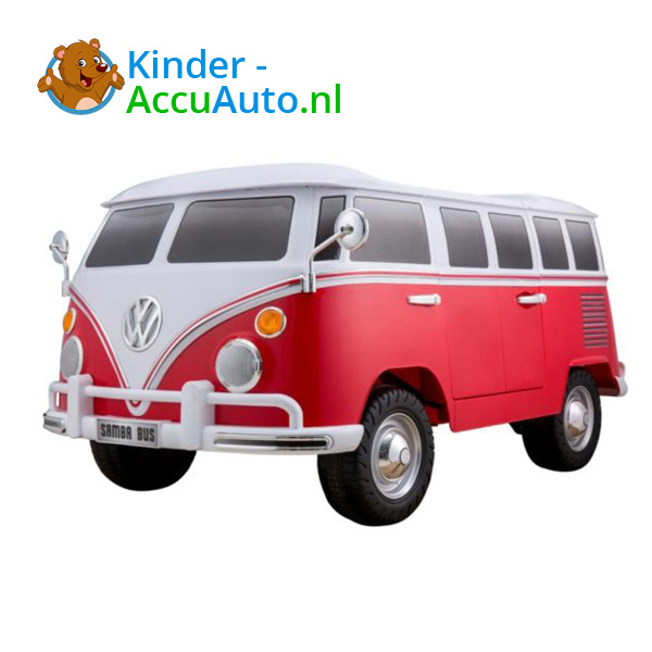 Volkswagen Campervan T1 Kinderauto Rood 1