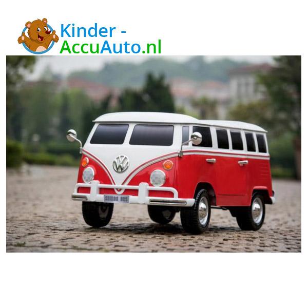 Volkswagen Campervan T1 Kinderauto Rood 2