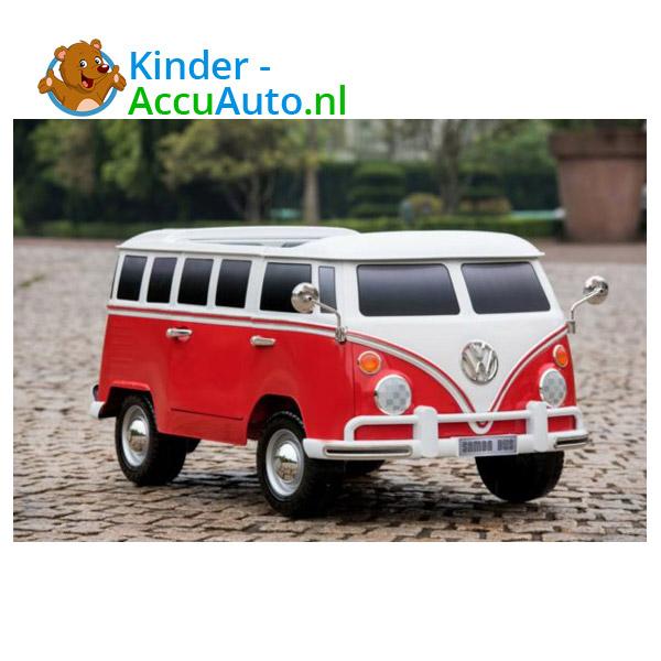 Volkswagen Campervan T1 Kinderauto Rood 3