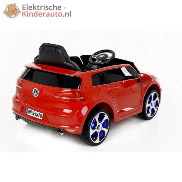 Volkswagen Golf GTI Kinderauto Rood 6