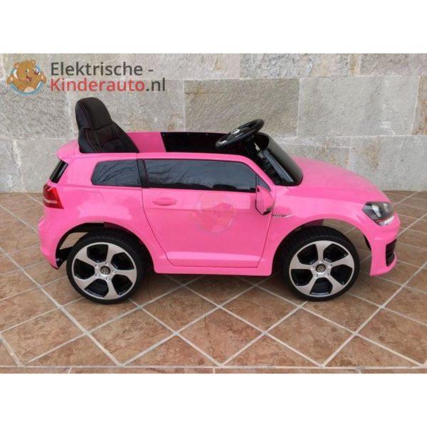 Volkswagen Golf GTI Kinderauto Roze 4