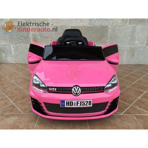 Volkswagen Golf GTI Kinderauto Roze 5