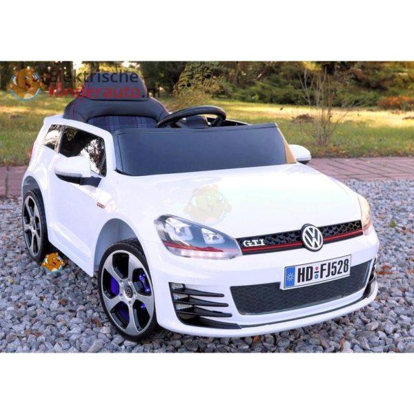 Volkswagen Golf GTI Kinderauto Wit 12