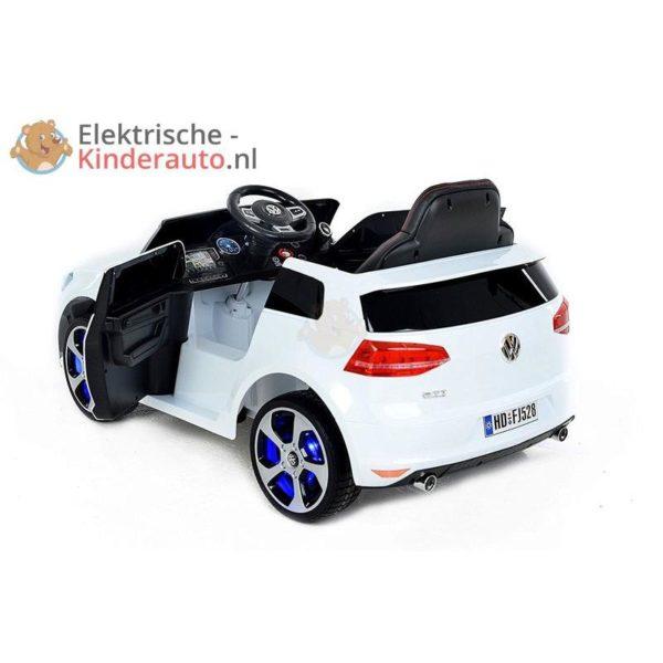 Volkswagen Golf GTI Kinderauto Wit 2