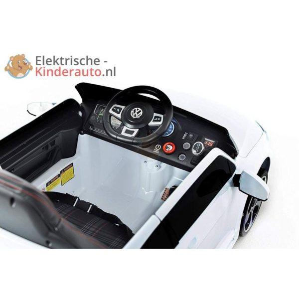 Volkswagen Golf GTI Kinderauto Wit 7