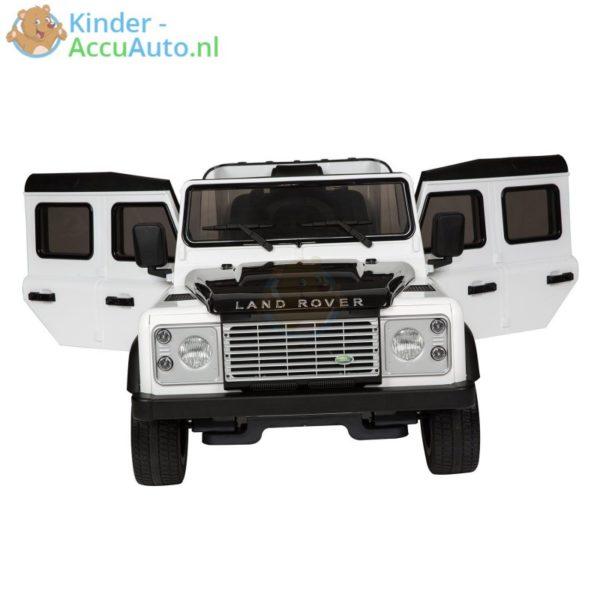 Kinderauto wit landrover defender 2