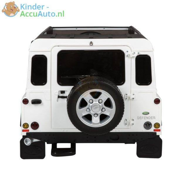 Kinderauto wit landrover defender 5