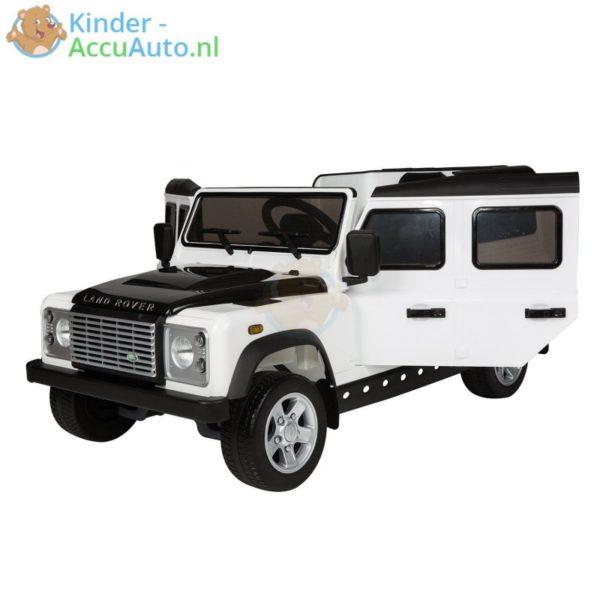 Kinderauto wit landrover defender 6