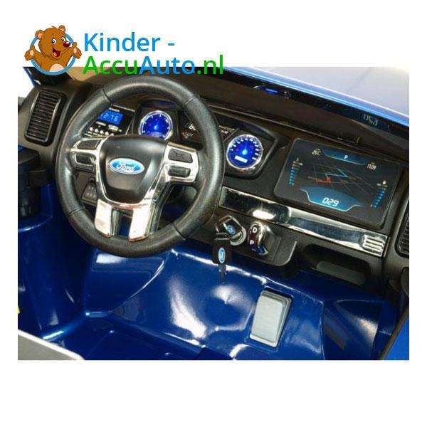 Ford F650 kinderauto blauw 6
