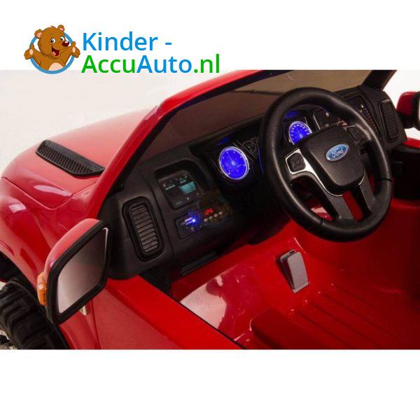 Ford Ranger Kinderauto Rood 6
