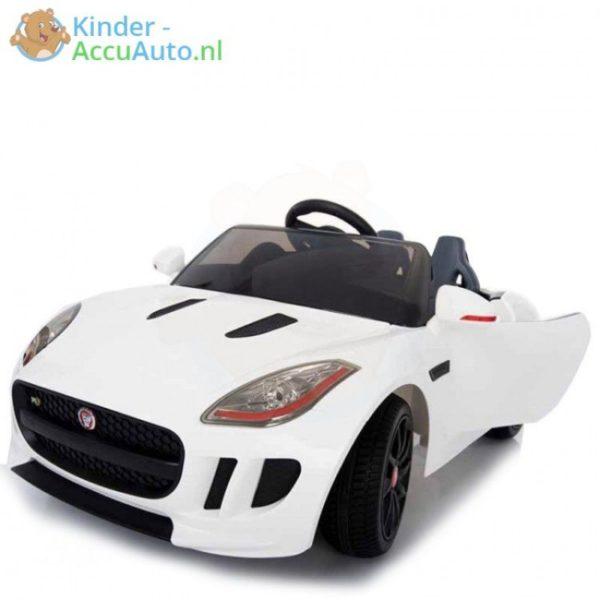 Jaguar F type kinder accu auto wit kinderauto 1