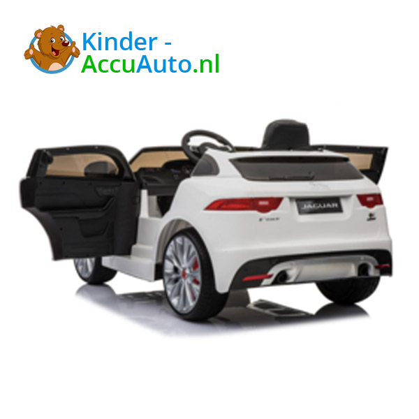 Jaguar F-Pace Wit Kinderauto 6