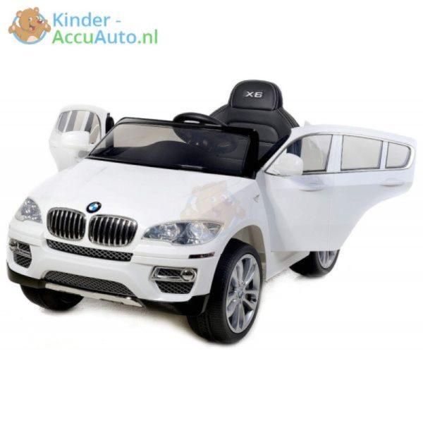 Kinder Accu Auto BMW X6 wit kinderauto 1