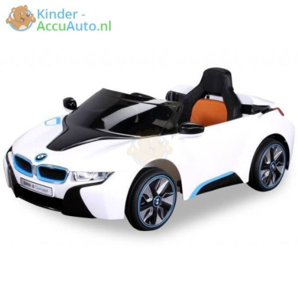 Kinder Accu Auto BMW i8 wit kinderauto 1