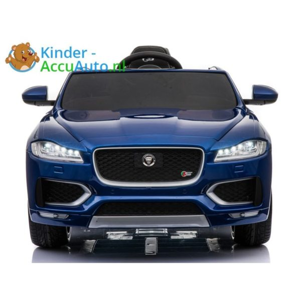 Kinder accu auto f pace blauw 2