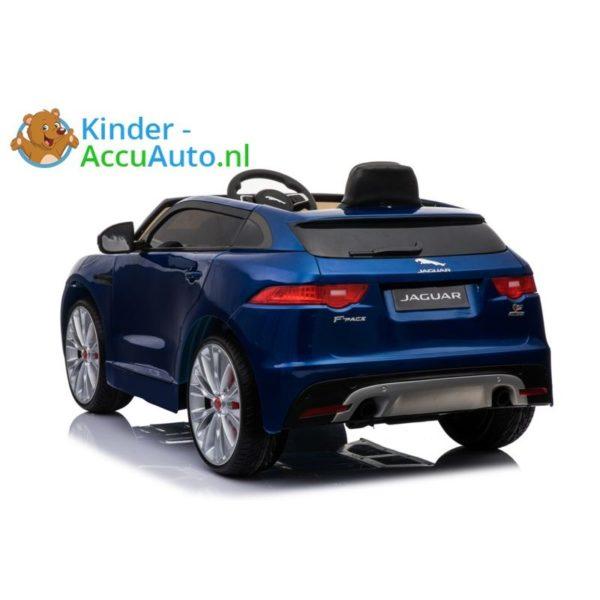 Kinder accu auto f pace blauw 6